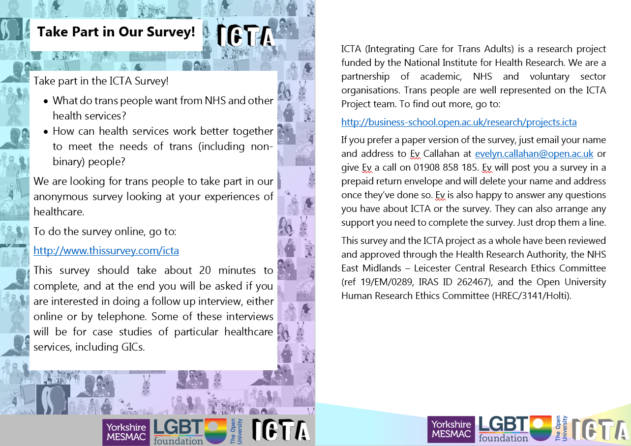 Trans-Adults NHS requirements Survey